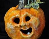 Halloween Pumpkin Decoration Paper Mache Tommy
