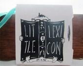 Little Lexicon- Mini Accordion Art Book