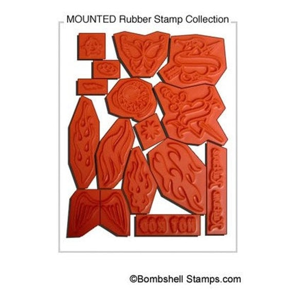 MOUNTED STAMP SERVICE -receive your stamps ready to use
