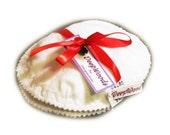 Pair Of Contoured Cotton Nursing \/ Breastfeeding Pads