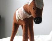 Custom Pony soft sculpture