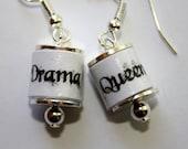Drama Queen earrings - SALE