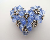 Beaded 3D Heart Tutorial TWR004