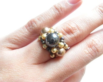 Band of Pearls Ring Tutorial TWR015