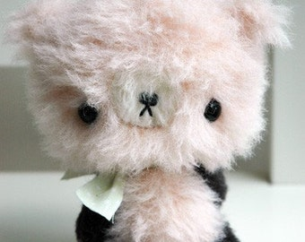 SLEEPY a Japanese anime bear teddy epattern by Jenny Lee of jennylovesbenny artist bears