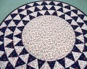 Circular Table Topper Farmers Fancy design