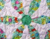 Quilt old fashion design Endless Chain