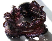 Purple Ripple Pathway Bracelet