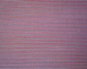 Vintage Ribbed Stripe Pink & White fabric 5 YDS