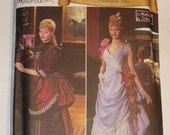 RESERVED for bevl300- Simplicity 5457 pattern, Victorian 1880 Costume sizes 6, 8, 10, 12