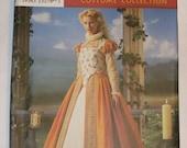 Simplicity 8881 pattern, Elizabethan Costume sizes 6, 8, 10, 12