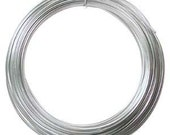 Anodized Aluminum Craft Wire 12 Gauge 39 Feet SILVER Color Special Price LIMITED TIME Offer 42599