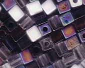 Miyuki Bead 4mm Cube Mix PEBBLESTONE 915255