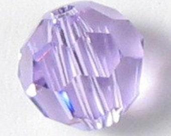 10 - 6mm Clearance Swarovski Elements Crystal Round 5000 VIOLET Beads 544371