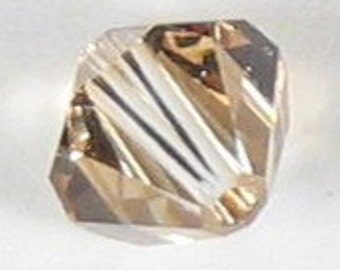 Swarovski Elements Crystal Bicone 5301 6mm GOLDEN SHADOW Beads (20) 524037