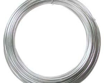 50 Pack Wholesale 12 Gauge 39 Feet SILVER Color Anodized Aluminum Craft Wire Special Price US ONLY 42599