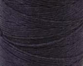 Waxed Irish Linen Thread Cord Bookbinding 10 Yards Four Ply 4 Ply PLUM Crawford 420017