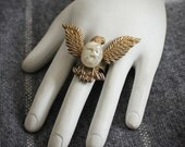 Golden Eagle Bravery Ring
