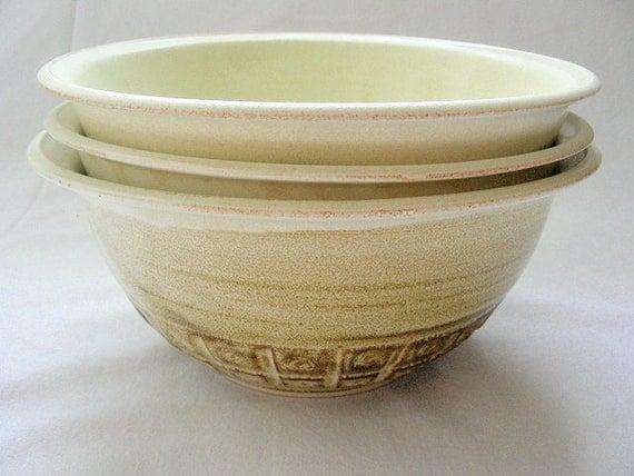 Signo Series Serving Bowl Set of Three SALE