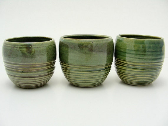 Oribe Cups Set of Three (Sold As Set)