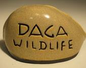 RESERVED listing for Gordon Hoppe, Daga Wildlife sign