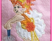 Boutique Embroidered Fancy Nancy 1 Patch Applique Girl Sew On  Iron On ASBD