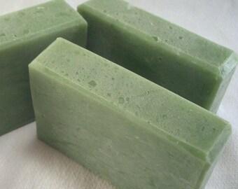 Handmade Cucumber Aloe Body Bar Soap