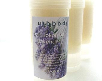 Lavender Solid Lotion Bar
