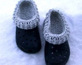 Crochet Pattern-Clog Liners