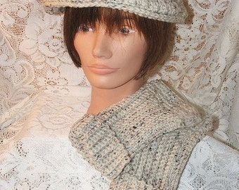 Crochet Pattern-His or Hers Newsboy Cap