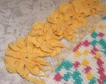 Crochet Pattern-Diamond Placemats