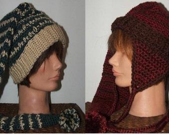 Crochet Pattern-Winter Wonderland Hat Set