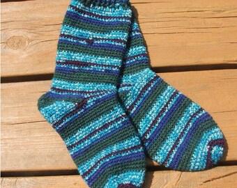 Crochet Pattern-My First Crochet Socks