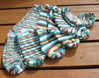 Crochet Pattern-Hooked on Socks