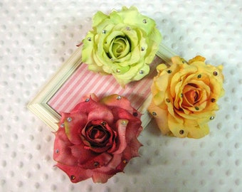 Luna Bella, Wedding Collection, Victorian Rose Hair Clip