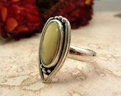 SALE - Mellow Yellow Sterling Ring