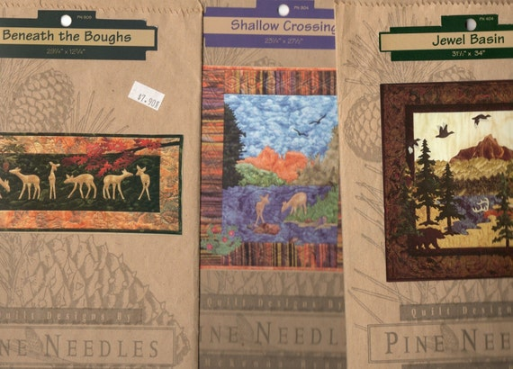 Nature Quilts Early McKenna Ryan Pine Needles Patterns
