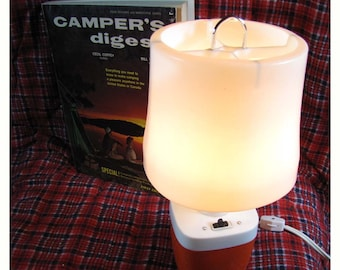 Lamp - Orange Staycation Camping lamp