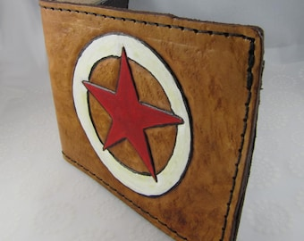 Leather Wallet - LONE STAR