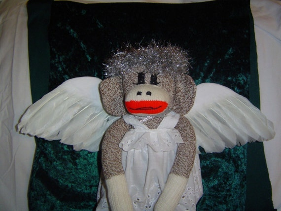 Angel Sock Monkey