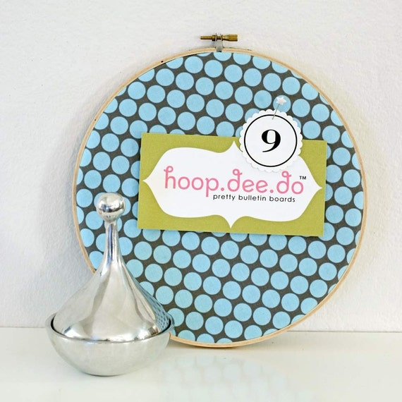 hoop.dee.do bulletin board 9in.