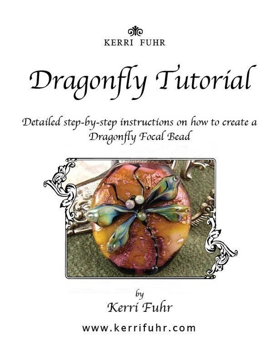 Lampwork Dragonfly Tutorial by Kerribeads