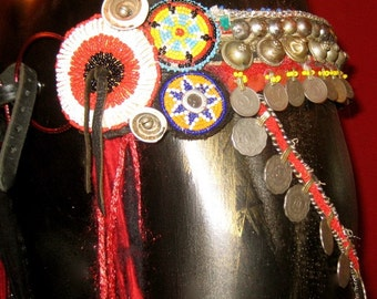 Custom Made,  Deluxe Professional Tribal Fusion Belly Dance Belt