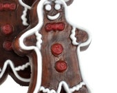 Gingerbread Man Soap - set of 3