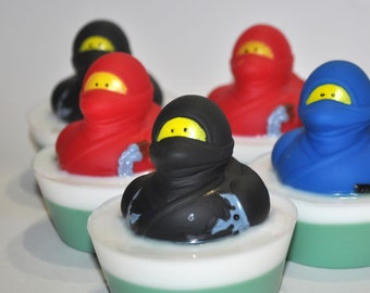 Ninja Rubber Duck Soap