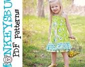 Mod Twirl Dress PDF eBook Pattern INSTANT DOWNLOAD