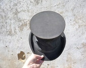Antique 1900s French Collapsible Top Hat