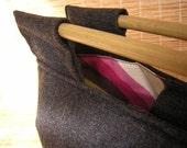 ritMatiCA - Custom Order - Charcoal bamboo bag