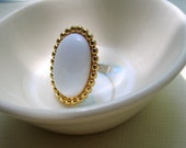 Classic Oval Rescued Vintage Ring