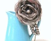 Woodland Fabric Flower Bracelet Corsage